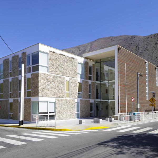 Edificio municipal, alto del carmen, tercera región