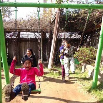 Paseo recreativo para hijos de funcionarios
