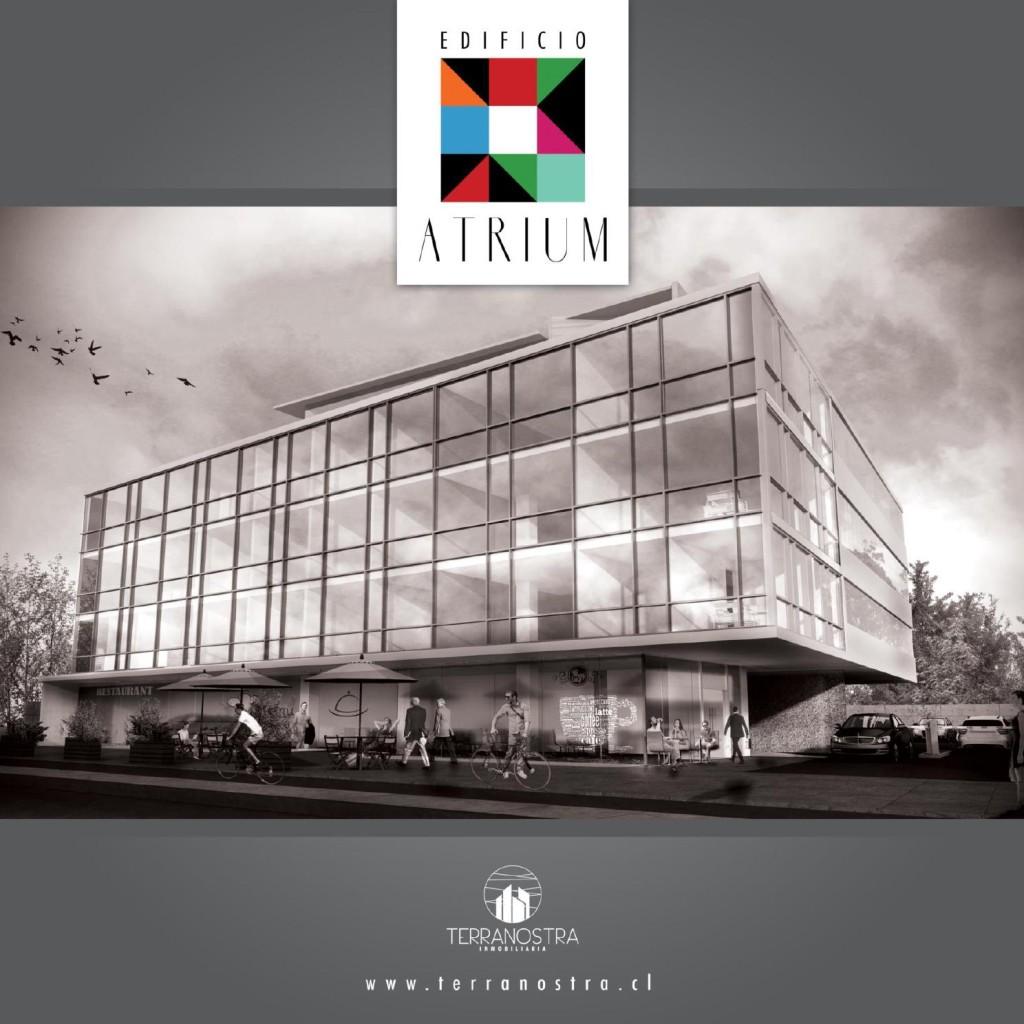 """Constructora Rencoret Ltda. comienza la construcción del nuevo edificio de oficinas """"Atrium"""" en La Serena."""