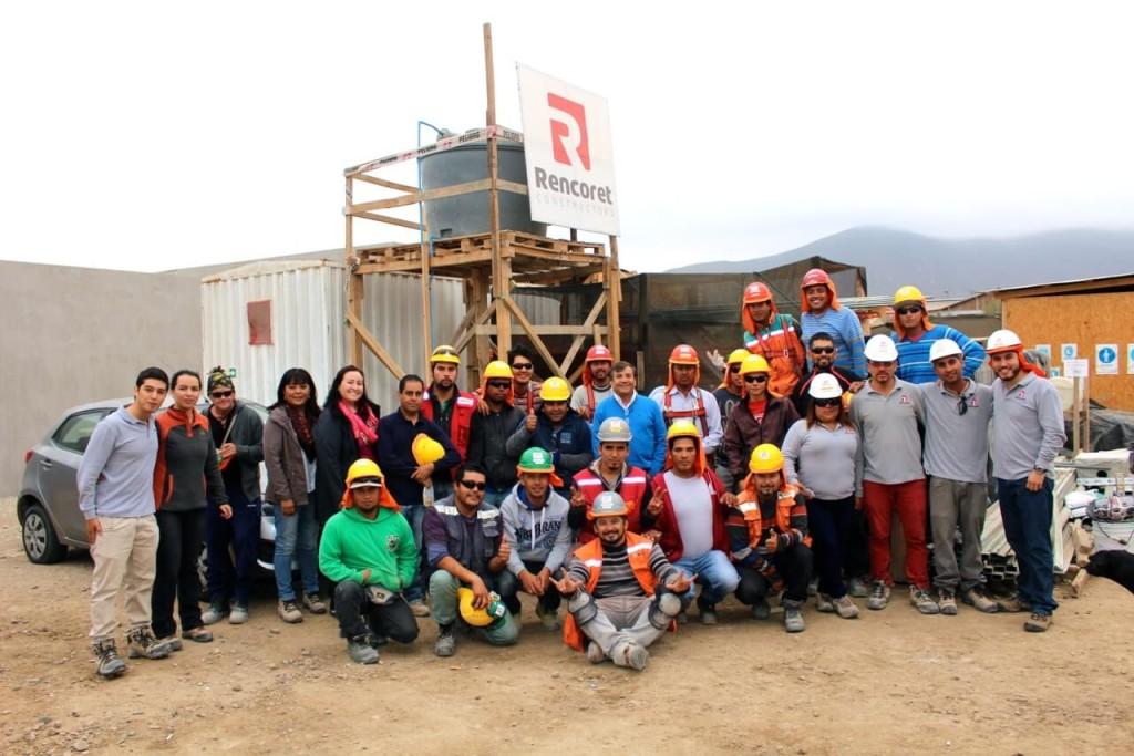 Constructora Rencoret celebra en todas sus obras el Día del ...