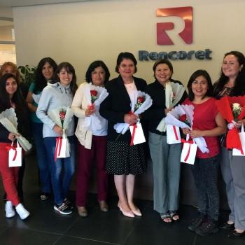 Constructora-Rencoret-Conmemora-día-de-la-mujer-2017-oficina-central-coquimbo