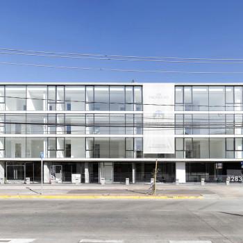 Fachada-calle-Edificio-Atrium-construcción-constructora-Rencoret-La-Serena