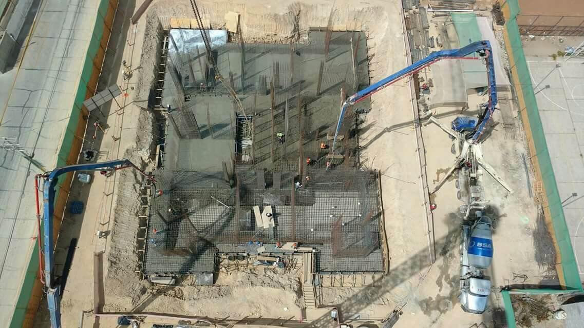 Faena hormigón masivo-constructora-rencoret-edificio-alto-miramar-coquimbo-18-03-2017