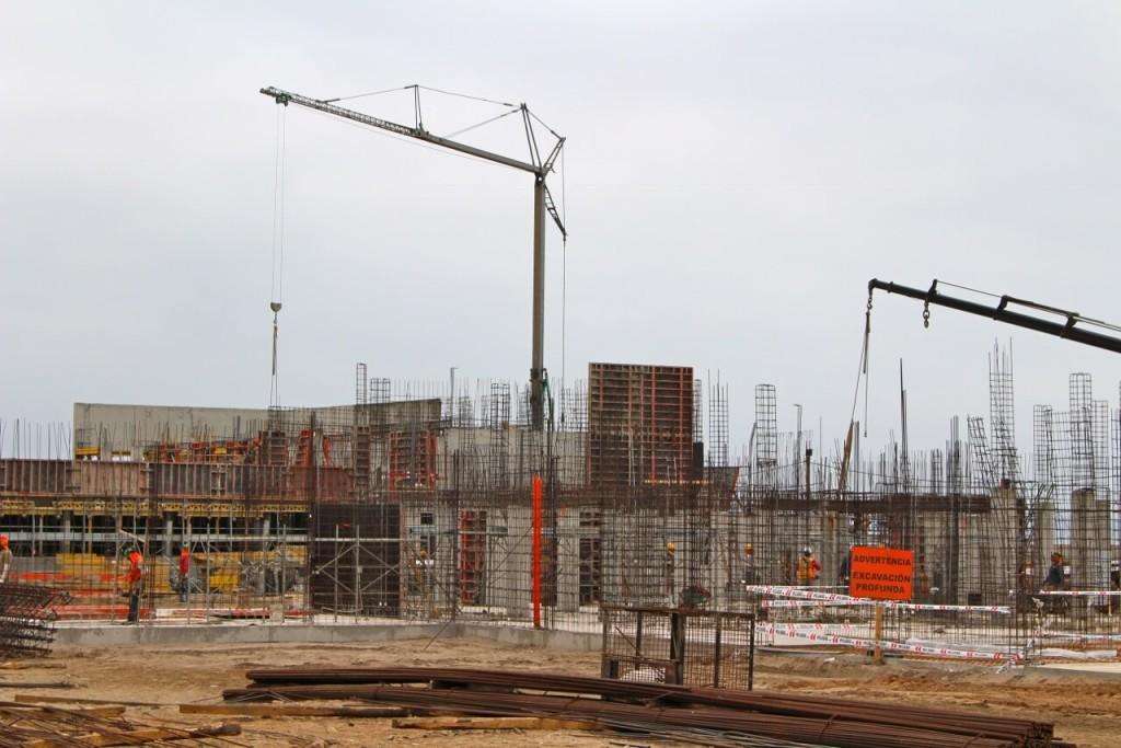 Obra-en-construcción-Colegio-Frances-La-Serena-Golf-Constructora-Rencoret